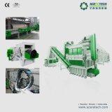 Talla del tubo de HDPE/PVC que reduce la desfibradora