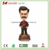 Polyresin ha personalizzato Bobble la statua capa della resina per i regali e Promotinal del ricordo
