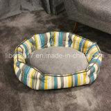 مصنع صنع وفقا لطلب الزّبون زاهية شريط مستديرة كلب سرير