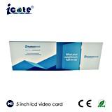 5inch IPS/HD LCD Bildschirm-videobroschüre für heißen Verkauf