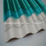波形FRPのガラス繊維の透過屋根シート