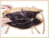 女性のための多彩なコルクの学生かばんのCorssbodyのハンド・バッグ