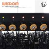 鉱山のヘッドライト、任意選択ワイヤー1.4/1.65mとの耐圧防爆LEDのヘルメットの照明