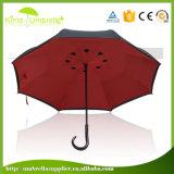 Изготовленный на заказ зонтик способа логоса тавра популярным полным перевернутый телом обратный