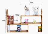 O bambu Flowerpot/estante de livros de armazenamento criativa decoração do escritório doméstico de prateleira