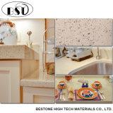 La vanità beige della stanza da bagno del quarzo del diamante principale 60 dentro