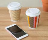 12oz одноразовые колебания бумаги чашки кофе (12 унций)