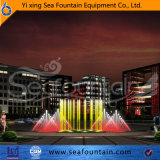 Водонепроницаемый светодиодный индикатор музыки из нержавеющей стали сухой фонтан