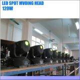 단계 점화 120W LED 이동하는 맨 위 반점 빛