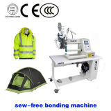 Uniform와 Sport Wear Dual Arm Cross Hot Hot Air Welding Machine 소방수