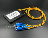 Разъем Scpc Splitter PLC пластичной коробки разъема 1X4 Gpon разъема волокна