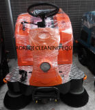 Electric Rider Road Sweeper Ride sur plancher Sweeper Machine