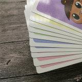 Design personalizado Cartões de jogo Cartões educacionais para crianças