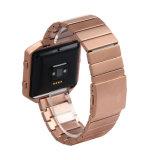 Cinturino di lusso Premium del metallo per Fitbit, cinturino del branello dell'acciaio inossidabile per la fiammata