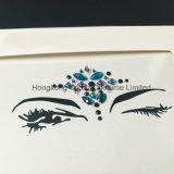 Sticker van het Oog van het Bergkristal van de Make-up van het Oog van de Partij van de Sticker van de Oogschaduw van juwelen de Zelfklevende (S015)