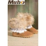 O inverno curto da moda calç carregadores para mulheres na castanha