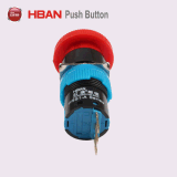 Hbds1-Ayシリーズ16mm IP40プラスチック非常停止スイッチ
