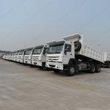 Camion dell'Etiopia dell'autocarro con cassone ribaltabile di Sinotruk HOWO 6X4 per trasporto