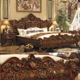 Houten Bed voor het Meubilair van de Slaapkamer/het Bed van de Slaapkamer (A05)