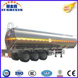 Type réservoir de carburant de col de cygne/semi-remorque en aluminium de camion-citerne