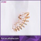 중국 도매 18k 금에 의하여 도금되는 형식 CZ 팔목 귀걸이