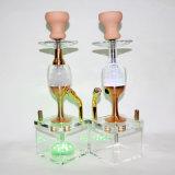 De Vaas + de Pijpen van het water voor de Rokende Rokende Pijp van het Glas van de Sigaret van de Waterpijp van Shisha van het Asbakje van de Pijp van de Waterpijp van het Glas van de Staaf Shisha Rokende Elektronische