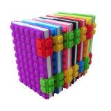 習慣によって個人化されるA6日記の印刷のノート、新しいデザインシリコーン日記
