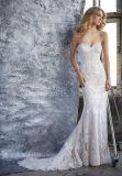 2018 новейшей конструкции высокого качества Vintage Strapless Русалки кружево свадебные платья