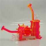De Rokende Pijp van de Installatie van de SCHAR van het Silicone van de Waterpijp van het glas