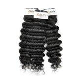 Вьетнамских глубокую вьющихся волос для необработанной заготовки Virgin (Категория 9A)