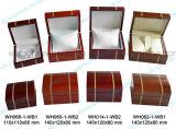 Crear la caja de embalaje laqueada brillante del regalo para requisitos particulares de madera de la joyería con su insignia