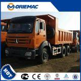 Chinese Beiben 310HP 6 door Vrachtwagen 4 met het Systeem van de Opschorting op Verkoop