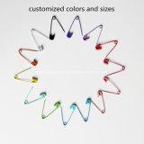 28mm angestrichener buntes Metallaufgerollter Sicherungsstift für Kleid