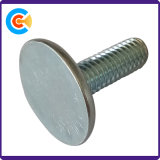 Углеродистая сталь нестандартных индивидуальные винт с круглой головкой винт с накатанной головкой