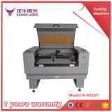 60With80W熱い販売の非金属レーザーの打抜き機