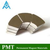 Магнит NdFeB дуги N40m R47xr37X5.1 с материалом неодимия магнитным
