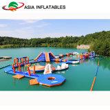 Aufblasbarer Wasser-Park-Spielplatz, aufblasbarer Handelswasser-Park für Verkauf