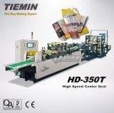 Tiemin 고품질 기계를 HD-350t (4 측, 5 측) 만드는 고속 자동적인 중심 물개 부대 & 주머니