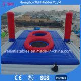 Corte di pallavolo gonfiabile della spiaggia di Bossball dei giochi gonfiabili esterni di sport da vendere