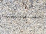 Losa de oro amarilla del granito de China para los azulejos y las tapas de la vanidad