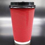 Venta al por mayor de papel de encargo de la taza de café del vidrio/alta calidad