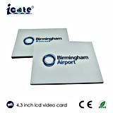 Tarjeta video del nuevo del diseño de felicitación asunto video de calidad superior de la tarjeta