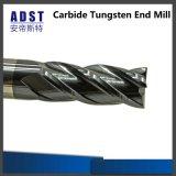 Molino de extremo sólido del carburo del fabricante 4flue de la herramienta profesional del CNC Miling
