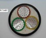 Kv 0.6/1isolés en PVC étanche à gaine PVC du câble électrique
