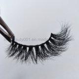 De lujo en 3D latigazos Multy-Layer Visón Natural Real Mink Fur azotes para ojos grandes