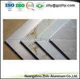600*600 suspendue en aluminium en forme de gros faux plafond en métal