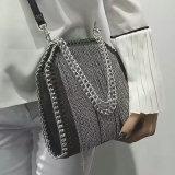 標準的な卸し売り金属のふさの女性のメッセンジャーのCrossbodyのハンド・バッグ