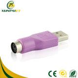 Weiblicher Videodaten-Energie USB-Konverter-Stecker-Adapter für Tastatur