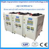 12.5KW de capacidad de refrigeración calefacción y refrigeración de la máquina para la galvanoplastia