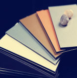 Comitato di alluminio composito del rivestimento d'argento per la decorazione della parete di Exteior